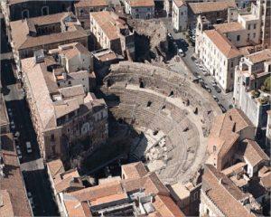 Teatro Romano di Catania-visita al Teatro Romano-Maria Terranova-Costruttori di Pace-