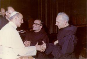 Papa Paolo VI, Padre Marco e Padre Berardo Malagola