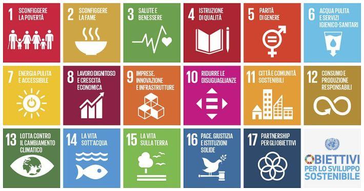 Obiettivi Agenda 2030