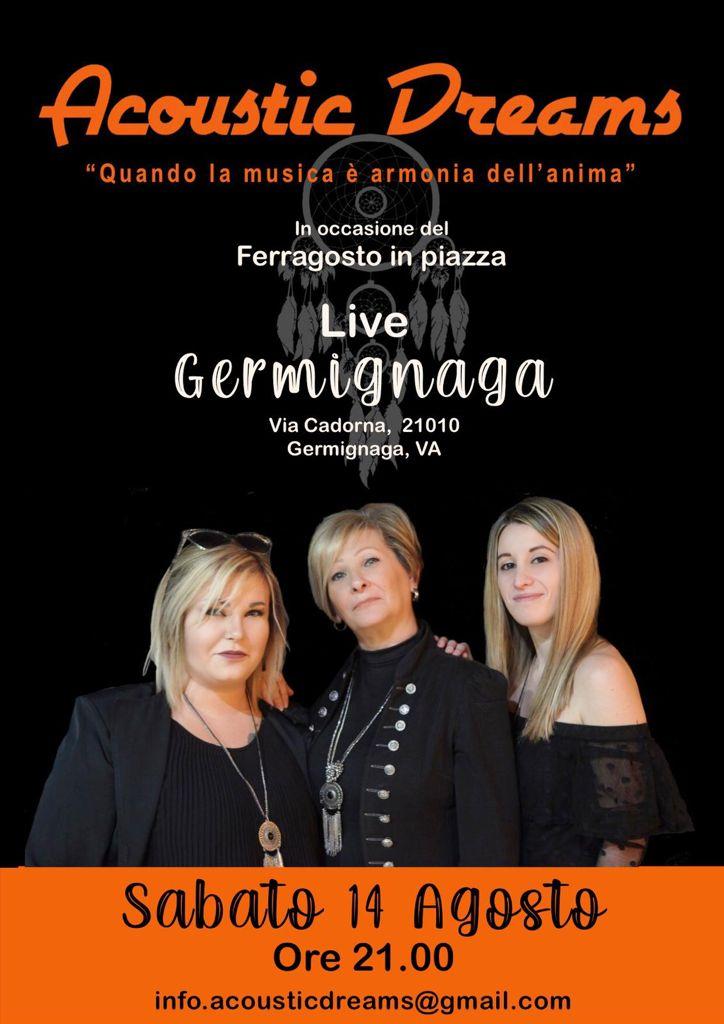 Acoustic Dream Evento 14 Agosto Germignaga