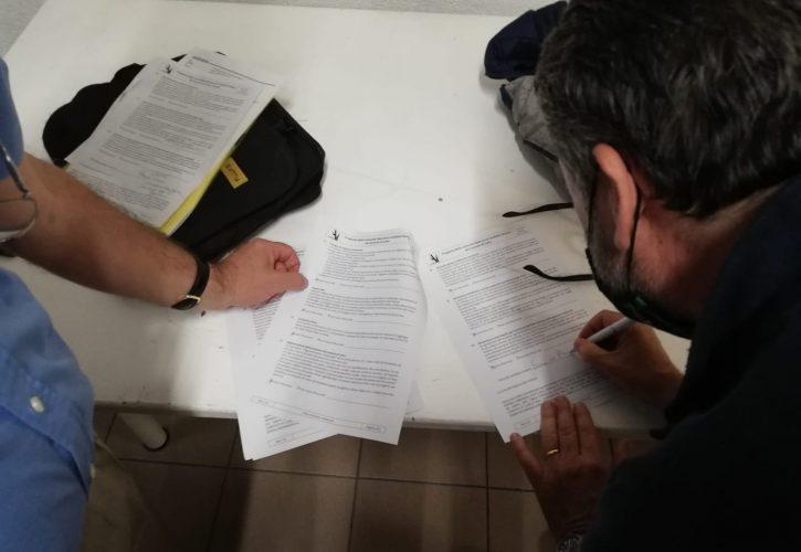 proposta per Luino-incontro con il candidato-Enrico Bianchi-Gianfranco Malagola-Associazione Costruttori di Pace-Acodipa Onlus-Maria Terranova-candidato Sindaco